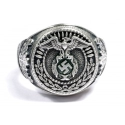 NSDAP SA sterling silver ring