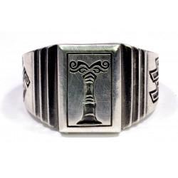 Ahnenerbe sterling silver ring