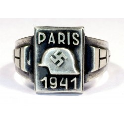German NAZI Ring France PARIS 1941