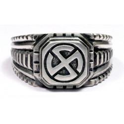 Hakenkreuz or Swastika ring Sterling silver Wiking