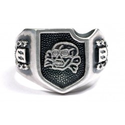 WWII German SS Silver ring.