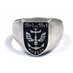WW2 Norwegian Volunteer ring