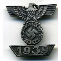 1939 Bar to the Iron Cross 2nd Class 1914