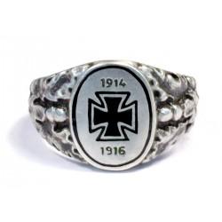 German  WWI 1914-1916 Silver Patriotic Ring