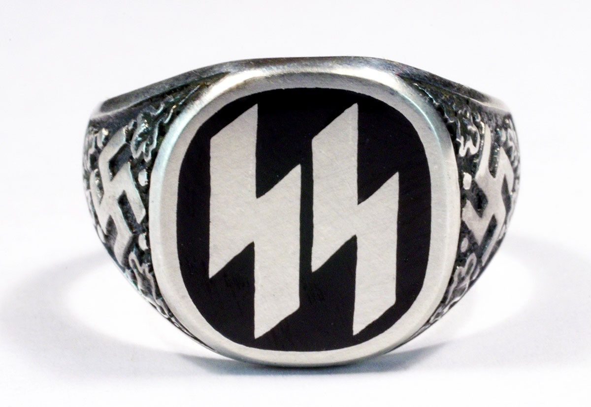German nazi wwii waffen ss ring for sale biocorpaavc Image collections