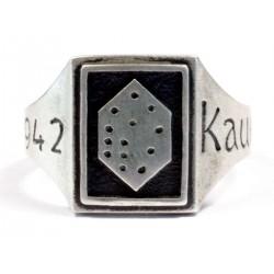German WW2 ring from Kaukas , 1942