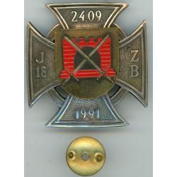 Badge of the 18th Jurmala Home Guard battalion