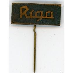 The Latvian soviet vintage stick pin Rīga