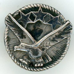 The badge of the  national association of Latvian soldiers