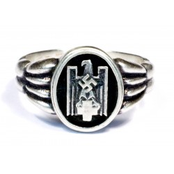 German WW2 Silver Deutsches Rotes Kreuz rings