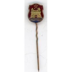 The Latvian soviet stick pin