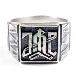 German WWII 1st  Division LAH ring