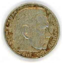 Germany 2 REICHSMARK 1939 coin