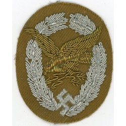 WWII GERMAN LUFTWAFFE RADIO OPERATOR cloth insignia