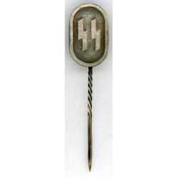 WWII German stickpin with runes Siegrune