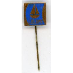 "The Latvian soviet stick pin ""Lielupe"""