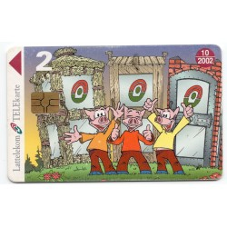 Latvian phone card (Lattelekom) 10/2002