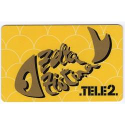 Latvian prepaid  calling card TELE 2