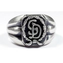 The Großdeutschland Division German silver ring