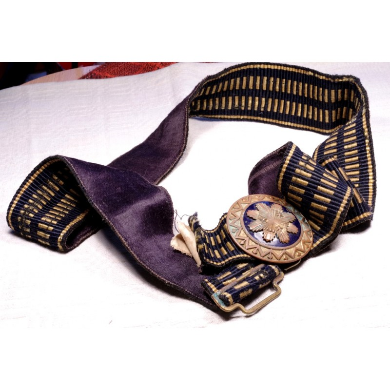 latvian officer s parade dress belt with buckle for sale