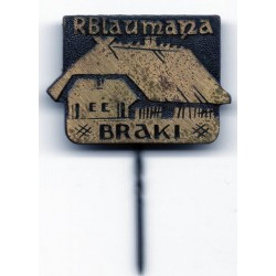 "The Latvian soviet stick pin ""R.Blaumaņa Braki """