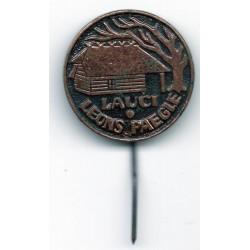"""The Latvian soviet stick pin """"Lauči Leons Paegle"""""""