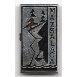 The Latvian soviet stick pin  Mazsalaca