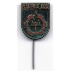 Latvian soviet stick pin Mālpils LCS