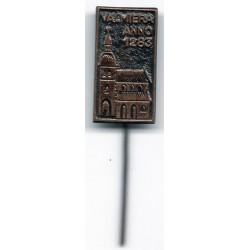 Latvian soviet stick pin Valmiera Anno 1283