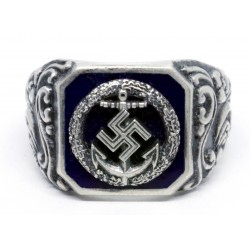 A Second War German Kriegsmarine Honor Roll Clasp ring