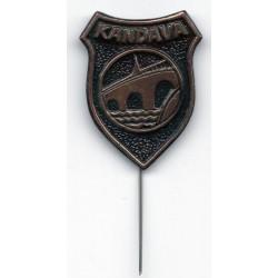 The Latvian soviet pin Kandava
