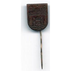 Latvian soviet pin Limbaži
