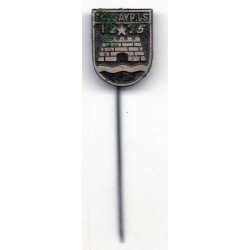 The Latvian soviet pin Daugavpils