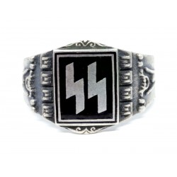 German Waffen SS Officers Signet Ring