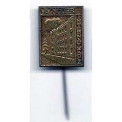 Latvian soviet stick pin Vaiņodes Internātskola