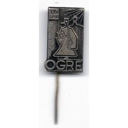 Latvian soviet stick pin Ogre