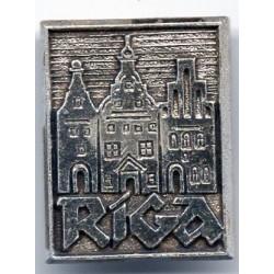 Latvian soviet stick pin Riga