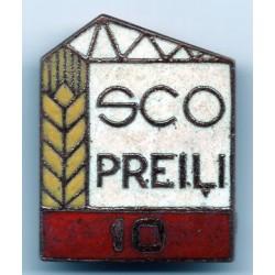 Latvian soviet stick pin Preili