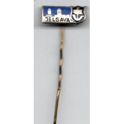 Latvian soviet stick pin Jelgava