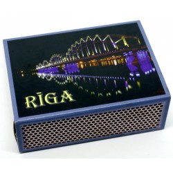 Latvian Matchbox -series of Riga view