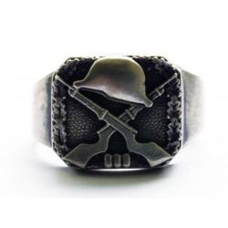 WW II German Ring with shotguns