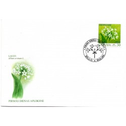 Latvian First Day Cover Laksis