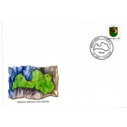 Latvian First Day Cover Talsi