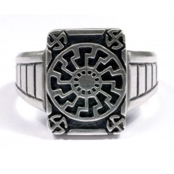 German WWII Black Sun ring