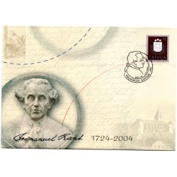 Latvian First Day Cover  Immanuel Kant