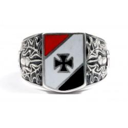 WW I German sterling silver ring