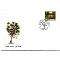 Latvian First Day Cover - Latvijas Dabas Rezervāti