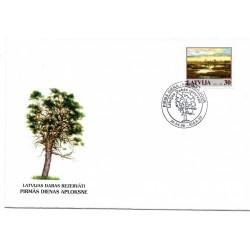 Latvian First Day Cover -Latvijas Dabas Rezervāti