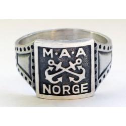 GERMAN WW2 NORGE Marine-Artillerie-Abteilung Ring