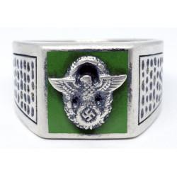 WWII Era German Police Officers ring